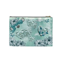 Sandy Cosmetic Bag By Karen Starkey   Cosmetic Bag (medium)   0wr0m7dd6vq1   Www Artscow Com Back
