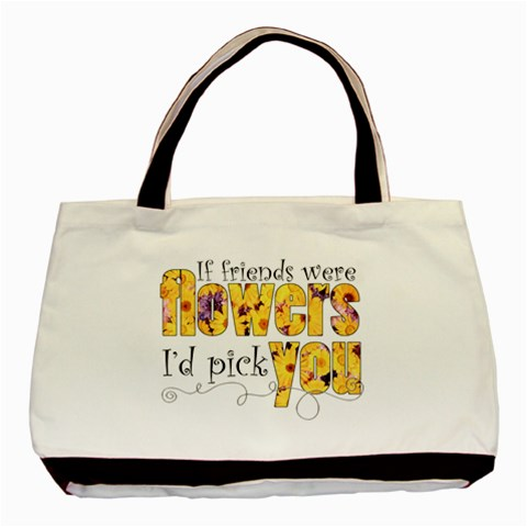 Friends Tote   Use Your Free Code! By Catvinnat   Basic Tote Bag   Ft7k4oon038u   Www Artscow Com Front