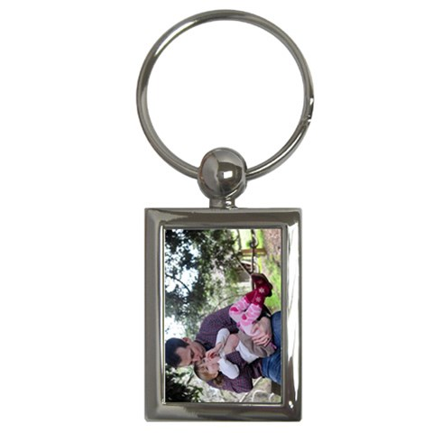 Ryan & Claire 1 By Alana   Key Chain (rectangle)   T6l6vhnd4jpa   Www Artscow Com Front