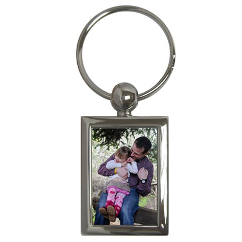 Ryan & Claire 2 By Alana   Key Chain (rectangle)   T3zsztaflet3   Www Artscow Com Front