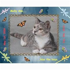 Kitten Portraits #1 A By R K  Felton   Collage 8  X 10    Pten4lpvkoj9   Www Artscow Com 10 x8 Print - 4