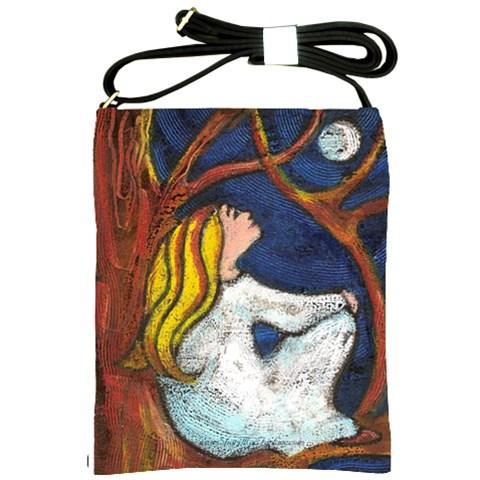 Moon Gazing By Alana   Shoulder Sling Bag   Cczgp3q2xv2t   Www Artscow Com Front