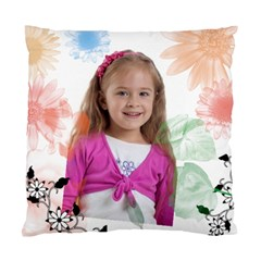 Flower Kids By Wood Johnson   Standard Cushion Case (two Sides)   Rwcg0qlw1dz1   Www Artscow Com Front