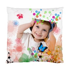Flower Kids By Wood Johnson   Standard Cushion Case (two Sides)   Rwcg0qlw1dz1   Www Artscow Com Back