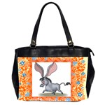 Big Ears Oversize Office Handbag (Two Sides)
