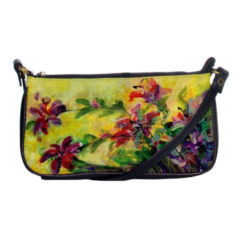 Uncontrolled Lilies By Alana   Shoulder Clutch Bag   R79uj7dxsovy   Www Artscow Com Front
