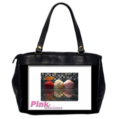 Alana Loves Cupcakes Oversized Bag By Catvinnat   Oversize Office Handbag (2 Sides)   Y02ov8ln1chn   Www Artscow Com Back