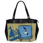 seagull - Oversize Office Handbag (2 Sides)