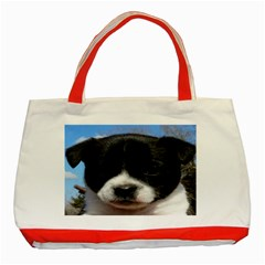 How Much is That Doggy in The Window Classic Tote Bag (Red) by grizzlyp30