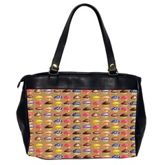 Chocolate Cupcakes Oversized Handbag By Catvinnat   Oversize Office Handbag (2 Sides)   Fhmzqas1yjol   Www Artscow Com Back