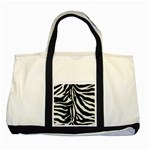 Zebra Tote - Two Tone Tote Bag
