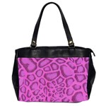 purple python oversize bag - Oversize Office Handbag (2 Sides)