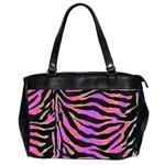 Psychadelic Zebra oversize bag - Oversize Office Handbag (2 Sides)