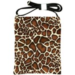 Giraffe Leather Bag - Shoulder Sling Bag