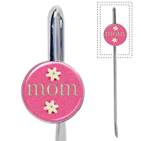 Mom Bookmark By Danielle Christiansen   Book Mark   7kkd7jku6jb9   Www Artscow Com Front