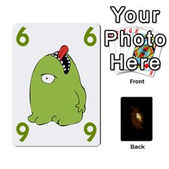 Alien By Matteo   Playing Cards 54 Designs   1ak43q65q13v   Www Artscow Com Front - Club10