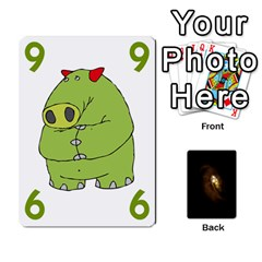Queen Alien By Matteo   Playing Cards 54 Designs   1ak43q65q13v   Www Artscow Com Front - ClubQ
