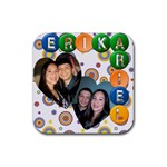 Ary & Erika Coaster 2 * - Rubber Coaster (Square)