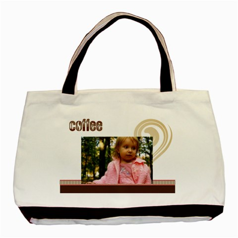 Coffee Bag By Wood Johnson   Basic Tote Bag   7hlzdx5pi07v   Www Artscow Com Front