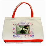 flower - Classic Tote Bag (Red)