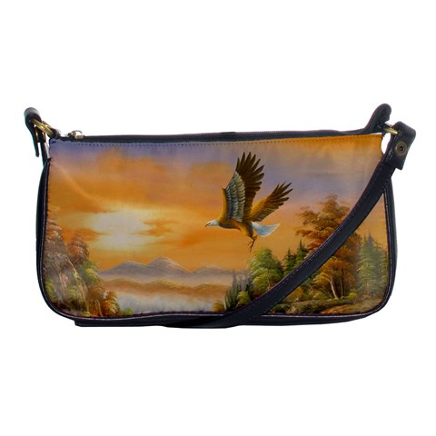 Eagle Clutch Of Hope By Diana P   Shoulder Clutch Bag   511sy8j7eyaa   Www Artscow Com Front