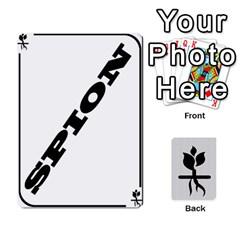 Resistance By Mattias Bj?rnstr?m   Playing Cards 54 Designs   2p0wdasyk5id   Www Artscow Com Front - Spade5