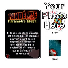 Pandémie   Menace Niveau 6 (v2) By Whisper   Playing Cards 54 Designs   Dxnl4z2w43bw   Www Artscow Com Front - Heart7