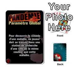Pandémie   Menace Niveau 6 (v2) By Whisper   Playing Cards 54 Designs   Dxnl4z2w43bw   Www Artscow Com Front - Heart9