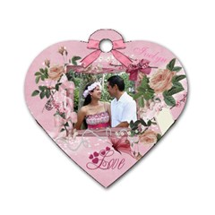 Mom s Id Tag By Ivelyn   Dog Tag Heart (two Sides)   Mfmn4mz0z5sc   Www Artscow Com Back