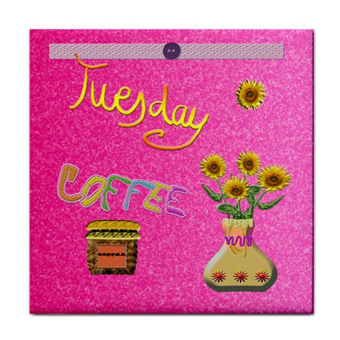Tuesday By Lydia   Face Towel   Di4lbw1orycj   Www Artscow Com Front