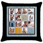 Nice gift - Throw Pillow Case (Black)