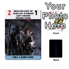 Aliens: This Time It s War Pt2 By Mark Chaplin   Playing Cards 54 Designs   Lukaip6hei5g   Www Artscow Com Front - Heart10