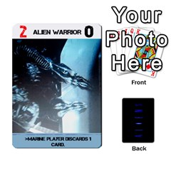 Aliens: This Time It s War Pt2 By Mark Chaplin   Playing Cards 54 Designs   Lukaip6hei5g   Www Artscow Com Front - Diamond5