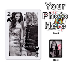 Playing Cards By Nena   Playing Cards 54 Designs   7njuwmh1503f   Www Artscow Com Front - Spade2