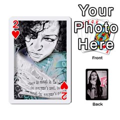 Playing Cards By Nena   Playing Cards 54 Designs   7njuwmh1503f   Www Artscow Com Front - Heart2