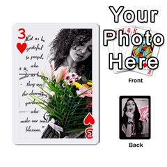 Playing Cards By Nena   Playing Cards 54 Designs   7njuwmh1503f   Www Artscow Com Front - Heart3