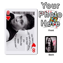Playing Cards By Nena   Playing Cards 54 Designs   7njuwmh1503f   Www Artscow Com Front - Heart8