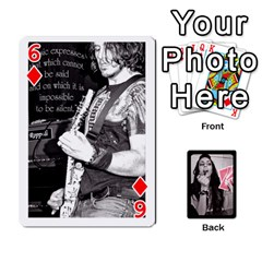 Playing Cards By Nena   Playing Cards 54 Designs   7njuwmh1503f   Www Artscow Com Front - Diamond6
