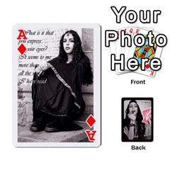 Ace Playing Cards By Nena   Playing Cards 54 Designs   7njuwmh1503f   Www Artscow Com Front - DiamondA