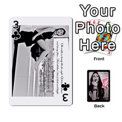 Playing Cards By Nena   Playing Cards 54 Designs   7njuwmh1503f   Www Artscow Com Front - Club3
