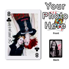 Playing Cards By Nena   Playing Cards 54 Designs   7njuwmh1503f   Www Artscow Com Front - Club8