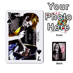 Playing Cards By Nena   Playing Cards 54 Designs   7njuwmh1503f   Www Artscow Com Front - Spade7