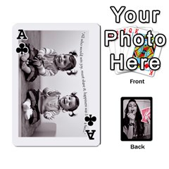 Ace Playing Cards By Nena   Playing Cards 54 Designs   7njuwmh1503f   Www Artscow Com Front - ClubA