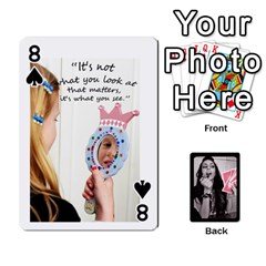 Playing Cards By Nena   Playing Cards 54 Designs   7njuwmh1503f   Www Artscow Com Front - Spade8