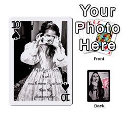 Playing Cards By Nena   Playing Cards 54 Designs   7njuwmh1503f   Www Artscow Com Front - Spade10