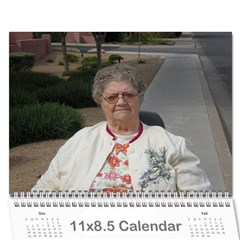 Mom Bday By Char Jacobson   Wall Calendar 11  X 8 5  (12 Months)   Th2f2e4z2nf0   Www Artscow Com Cover
