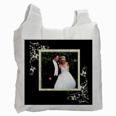 Bride & Groom Recycle Bag By Catvinnat   Recycle Bag (one Side)   Ud02gv5qtj9t   Www Artscow Com Front