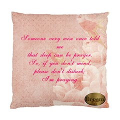 Pillow For Myself By Susan J  Eatherly   Standard Cushion Case (two Sides)   Txpw7bn3xiac   Www Artscow Com Front