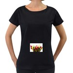 5 Maternity Black T-Shirt