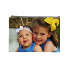 Baby Girls By Chastity   Cosmetic Bag (large)   Bvh9y53pyuea   Www Artscow Com Front